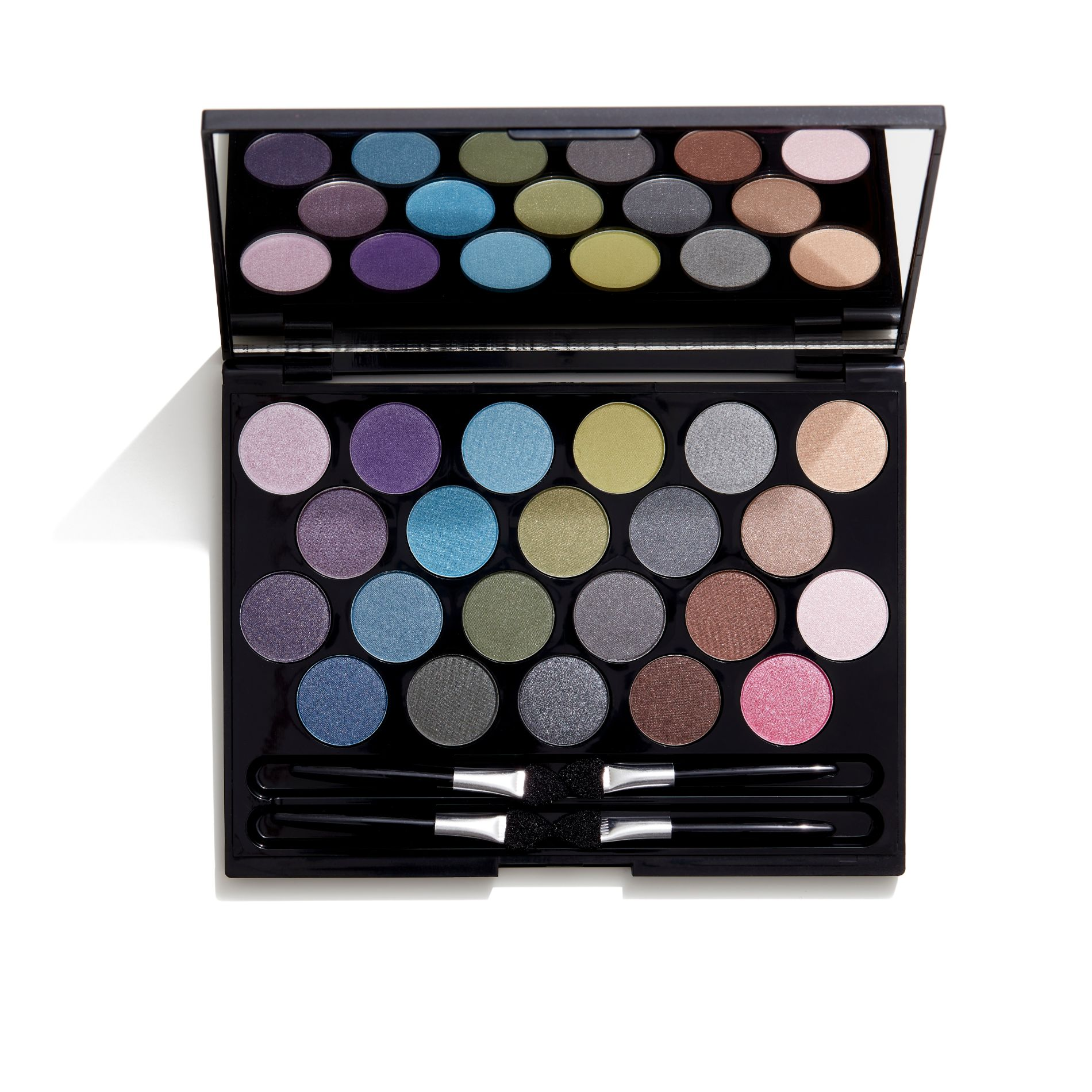Image of   GOSH GOSH 22 Eye Shadows in compact - 02 Smokey Shades