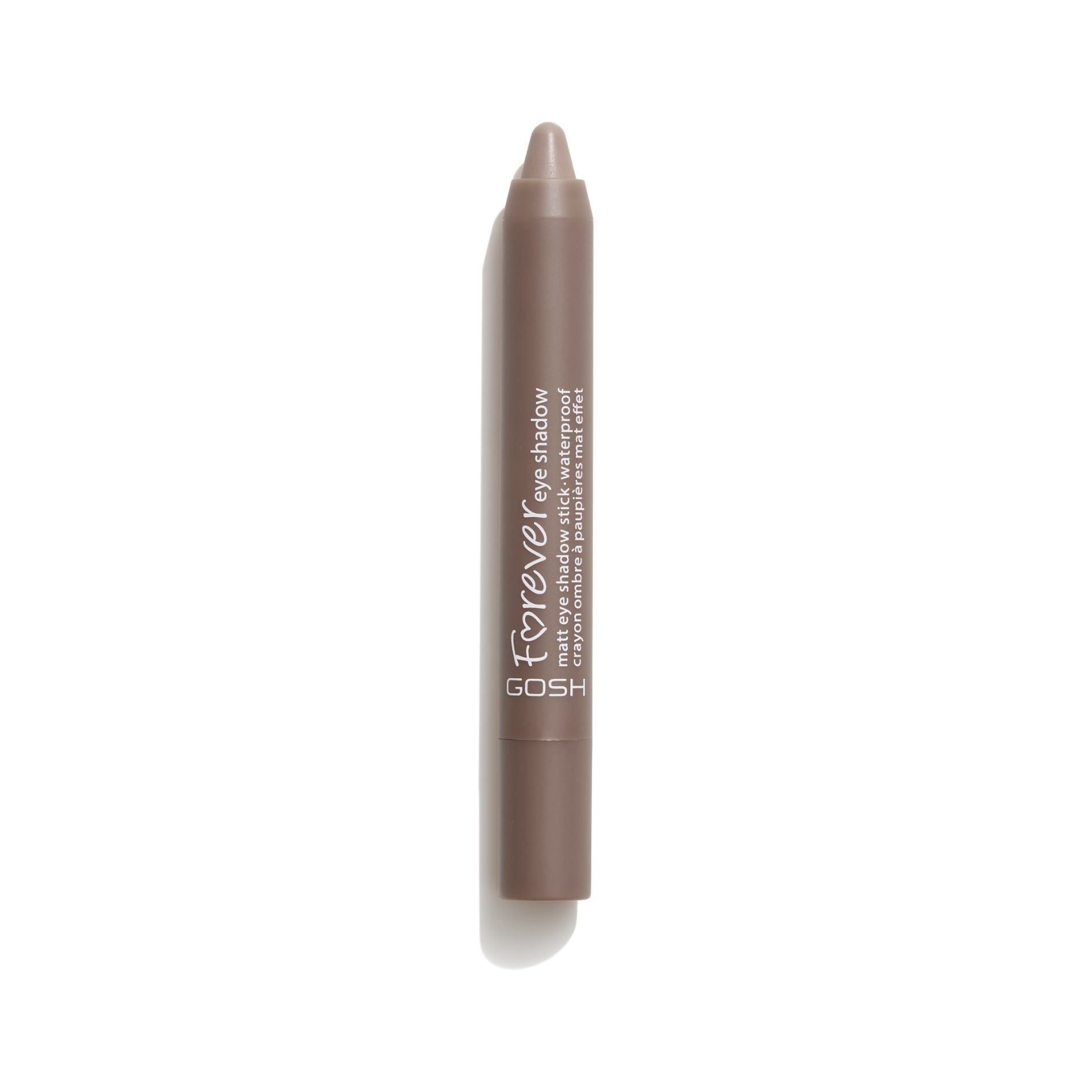 Image of   GOSH Forever Eye Shadow, 10 Twisted Brown