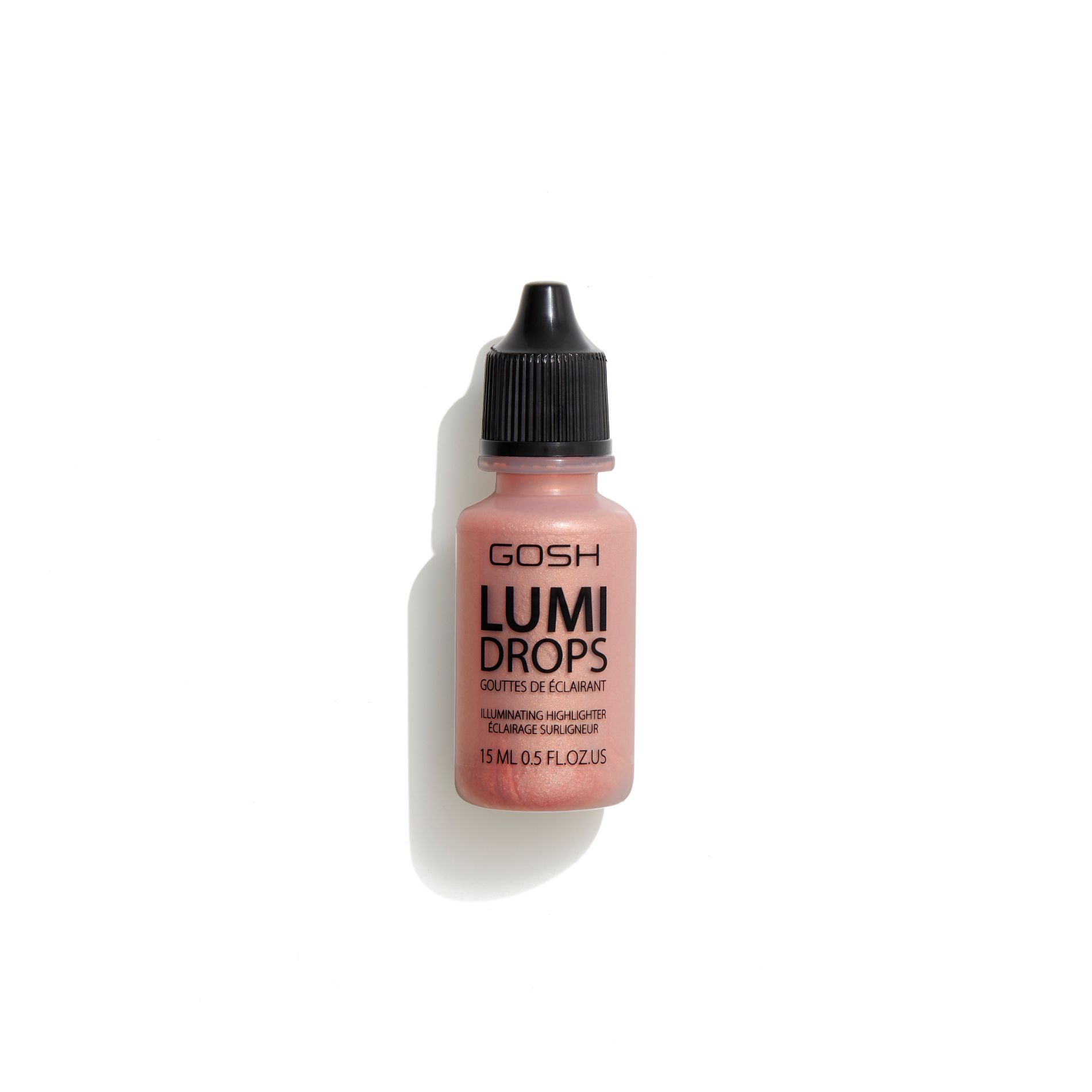 Image of   GOSH GOSH Lumi Drops 15 ml - 012 Rosegold