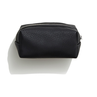 Faux Leather Beauty Bag