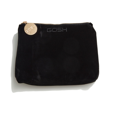 Velour Cosmetic Bag - Large